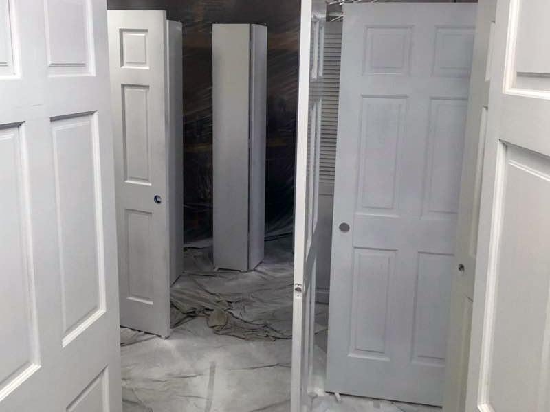 dew all paint doors